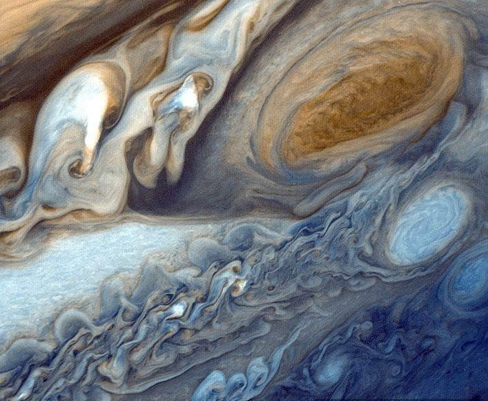 Jupiter is the brightest object: Great Red Spot