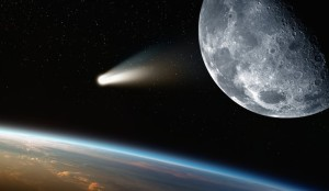 Tail Of Halleys Comet