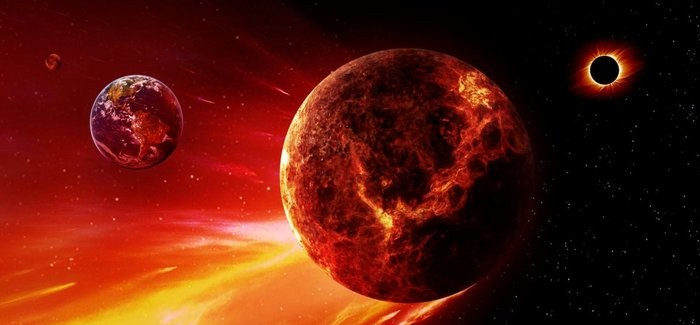 Two Giant Planets X ?