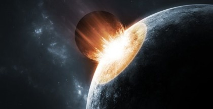 Early Earth had Violent Encounters With Giant Asteroids