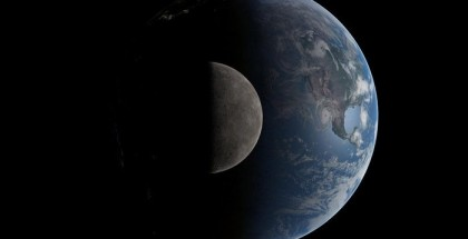Early Earth may Once have had Two Moons That Crashed to Form One, Astronomers Say