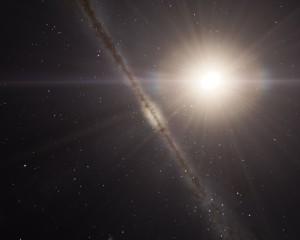 Mysterious Dark Matter Influences Growth of Supermassive Black Holes