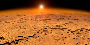 Amazing NASA's MAVEN Probe Detected Unexplained Aurora And Dust Clouds On Mars