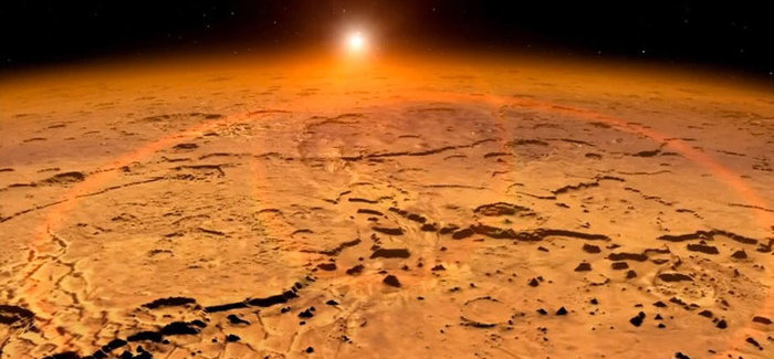 Amazing: NASA's MAVEN Probe Detected Unexplained Aurora And Dust Clouds On Mars