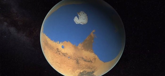 Mars Once had more Water than the Earth's Arctic Ocean, NASA Say