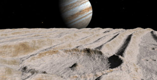 NASA Jupiter's Moon Ganymede has a Salty Ocean with More Water than Earth