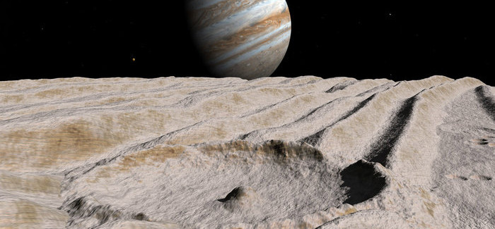 NASA: Jupiter's Moon Ganymede has a Salty Ocean with More Water than Earth