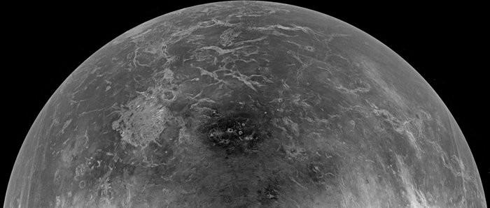 NASA's Magellan Unclothes Planet Venus