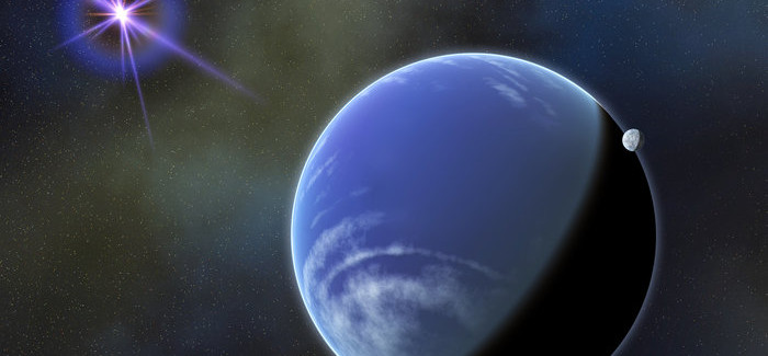 A White Dwarf Star Destroys Passing Planet At Edge Of Milky Way
