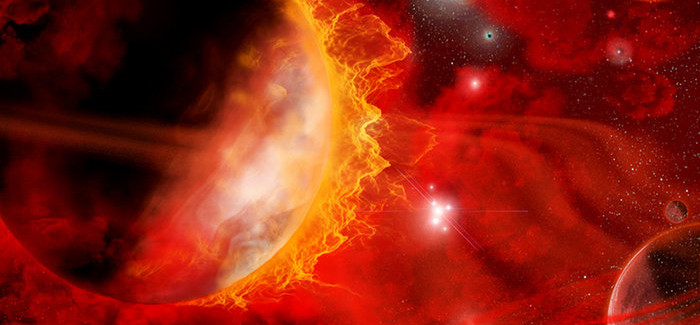 "Astronomers Spot Old Red Giant Stars With ""Chemical Clock"" On Hold"