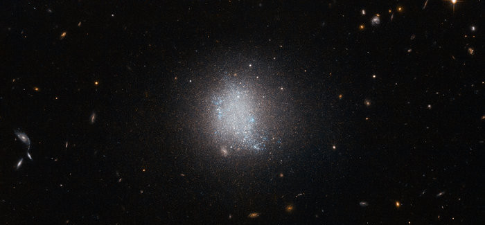 Starburst In Dwarf Galaxy UGC 5797