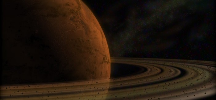 Destruction Of Phobos Will Make A Saturn-Like Rings around Mars