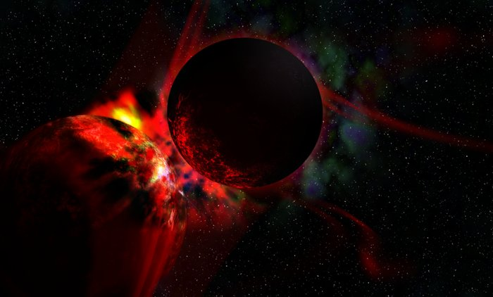 massive Mini-Neptune collision