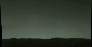 Earth Is Seen From Mars