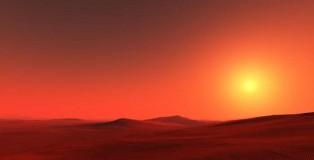 Mars Moon Rising