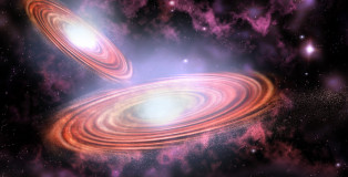 Supermassive Black Holes In Orbit