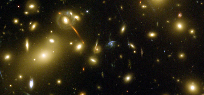 Hubble Confirmed a Galaxy Cluster Located at a Distance of 9.9 Billion Light-Years