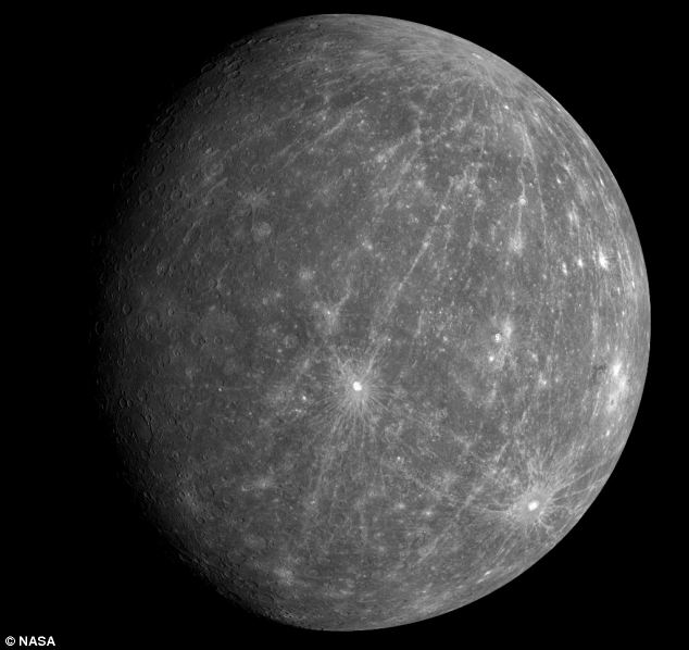 Mercury from the Messenger spacecraft
