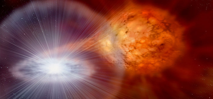 For the First Time, Astronomers Witnessing Nova's Exploding Fireball