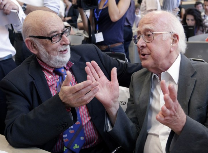 Peter Higgs and Francois Englert were awarded the Nobel Prize in Physics in 2013(Reuters)