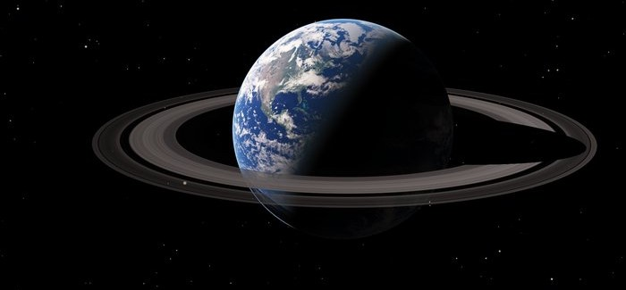 Pics: What If Earth Had Saturn's Rings?