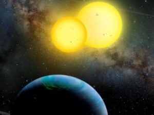 Astronomers Observe a 4-Star System as it Forms