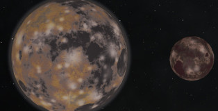 New Image of Pluto and Charon The Wobbly Dance