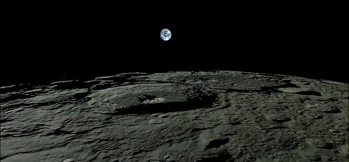 See the Dark Side of the Moon with this Amazing Video