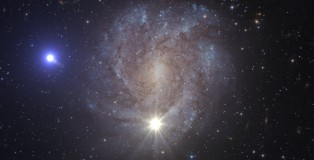 Fastest Star in the Milky Way Speeding Out of the Galaxy