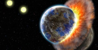 New Study Iron Rain may Explain Earth-Moon Differences