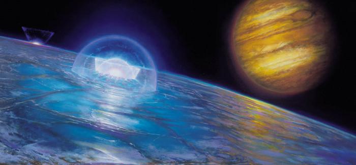 Jupiter's Moon Europa Has No Shortage Of Salt
