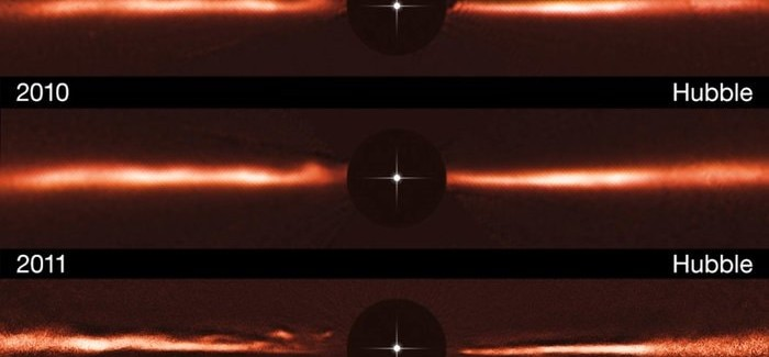 Astronomers Spot Unique Ripples Around Nearby Star – AU Microscopii