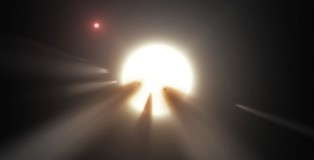 Alien Megastructure On KIC 8462852