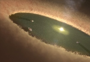 Exoplanet Forming
