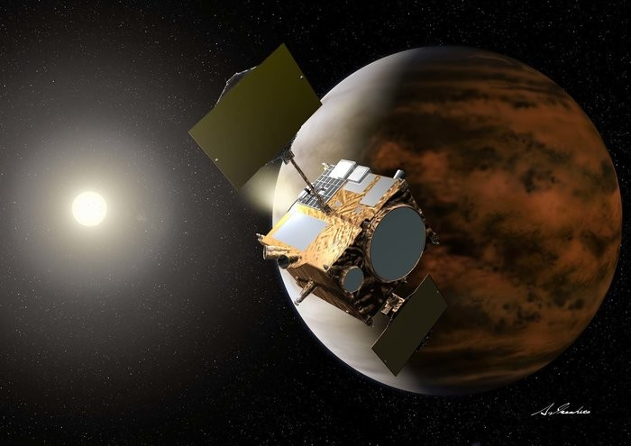 AKATSUKI: Our Only Operating Spacecraft In Orbit Around Venus