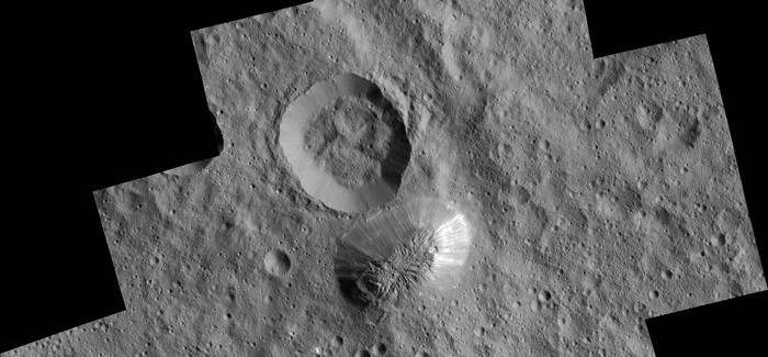 Ahuna Mons: Mysterious Mountain On Dwarf Planet Ceres