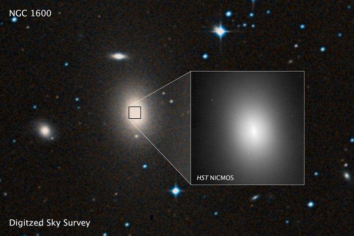 Giant Black Hole