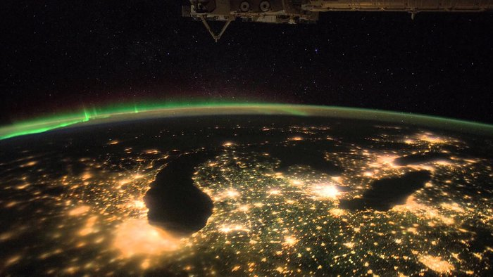 Stunning Timelapse Earth iss