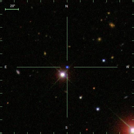J124043.01+671034.68 White dwarf Star With Oxygen